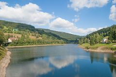 Elbe Reservoir,Giant Mountains,Czech Republic Royalty Free Stock Images