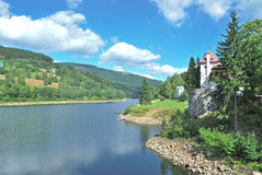 Elbe Reservoir,Giant Mountains,Czech Republic Royalty Free Stock Image
