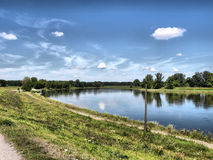 Elbe river Stock Photography