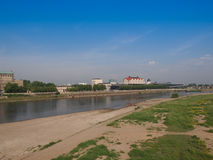 Elbe river in Dresden Royalty Free Stock Image