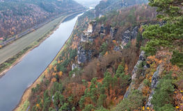Elbe river, Germany Royalty Free Stock Photos