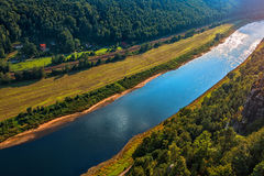 Elbe river Royalty Free Stock Photography