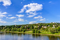 Elbe river and valley Stock Photos