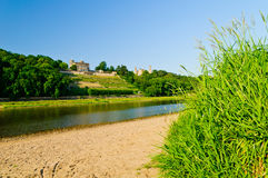Elbe river valley, Germany royalty free stock photos