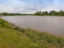 Elbe river Stock Photo