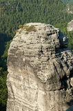 The Elbe Sandstone Mountains. In Germany , Europe Royalty Free Stock Photo
