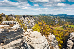 The Elbe Sandstone Mountains Royalty Free Stock Image