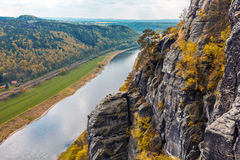 The Elbe Sandstone Mountains Stock Photography