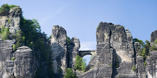 Elbe Sandstone Mountains, Germany Royalty Free Stock Photo