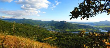 The Elbe valley Stock Photography