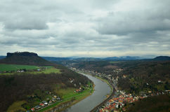 The Elbe Valley Royalty Free Stock Photo