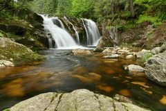 Elbe waterfall Royalty Free Stock Images