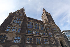 Elberfeld townhall in Wuppertal Duitsland royalty-vrije stock afbeeldingen