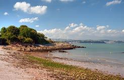 Elberry-Bucht, Devon stockfotografie