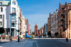 Elblag City stock photography