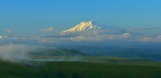 Elbrus in mountains Royalty Free Stock Image