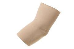 Elbow bandage isolated on white background Stock Images