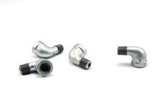 Elbow connectors Stock Photo