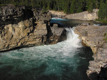 Elbow Falls. In Alberta, Canada royalty free stock photography