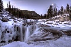Elbow Falls Bragg Creek Stock Image
