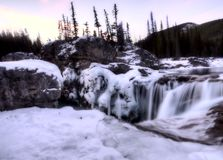Elbow Falls Bragg Creek Stock Photography