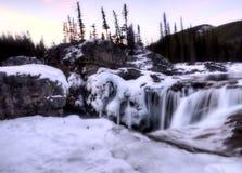 Elbow Falls Bragg Creek Stock Photography