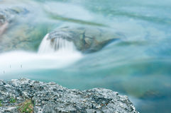 Elbow Falls at Nightfall Stock Images