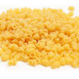 Elbow macaroni pasta Stock Images
