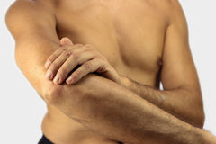 Elbow Pain Royalty Free Stock Images