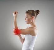 Elbow pain Royalty Free Stock Photos