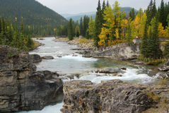 Elbow river valley Stock Photo