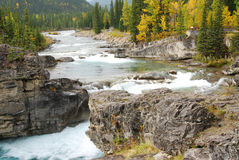 Elbow river valley Royalty Free Stock Images