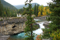 Elbow river valley Stock Photos