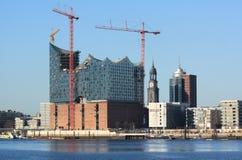 elbphilharmonie汉堡 免版税库存照片