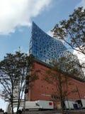 Elbphilharmonie royaltyfria bilder