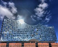 Elbphilharmonie Fotografia Stock Libera da Diritti