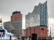 Elbphilharmonie Amburgo Fotografia Stock