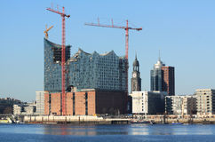 Elbphilharmonie Amburgo Fotografie Stock Libere da Diritti