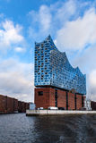 The Elbphilharmonie building in the port of Hamburg Royalty Free Stock Images