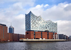 Elbphilharmonie; a concert hall in the HafenCity quarter of Hamb Stock Photography