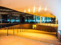 Elbphilharmonie concert hall plaza in Hamburg hdr Stock Photo