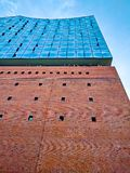 Elbphilharmonie. At sunset in spring Royalty Free Stock Image