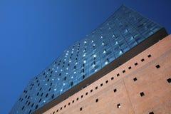 Elbphilharmonie in Hafencity District in Hamburg. Germany royalty free stock image