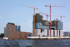 Elbphilharmonie in Hamburg Royalty Free Stock Images