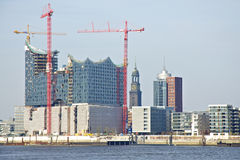 The Elbphilharmonie Hamburg Stock Photography
