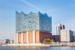 Elbphilharmonie in Hamburg. The Elbphilharmonie, a concert hall in Hamburg, Germany Stock Image