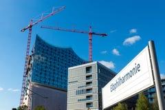 The Elbphilharmonie in Hamburg Royalty Free Stock Image