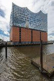 Elbphilharmonie in Hamburg. Elbphilharmonie hall in Hamburg, Germany Royalty Free Stock Photography