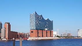 Elbphilharmonie Hamburg. After man years Philly is finished Stock Photos