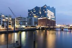 Elbphilharmonie Hamburg, Tyskland arkivfoton
